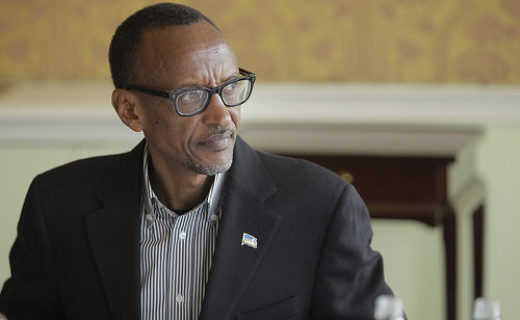 ルワンダの大統領 ポール・カガメ氏 解説:H.E. President of Rwanda, Paul Kagame at the 9th Broadband Commission Meeting, Dublin 22-23 March 2014.  Photo by ITU Pictures