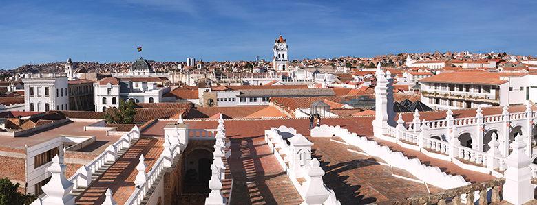 ボリビアの首都 スクレ