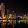 パナマ市の夜景