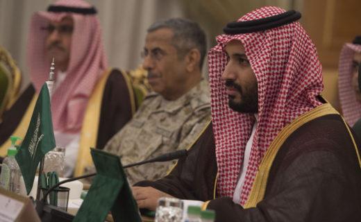サウジアラビアの皇太子兼若手防衛大臣(サウジアラビア)