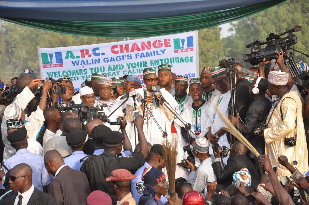 ナイジェリアでの選挙運動