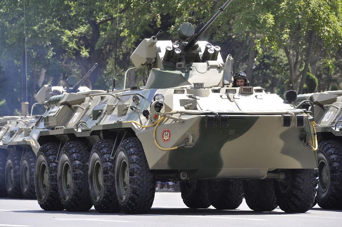 アゼルバイジャンでの軍事パレード