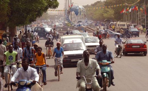 ブルキナファソ首都:ワガドゥグー