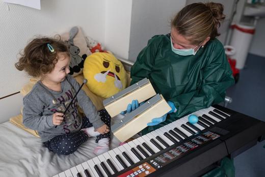 音楽療法の様子