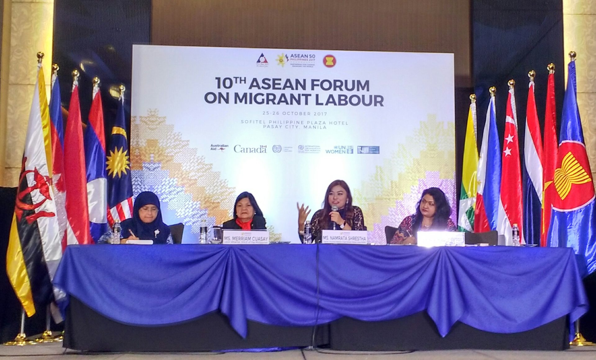 出稼ぎ労働者に関する第10回ASEAN会議