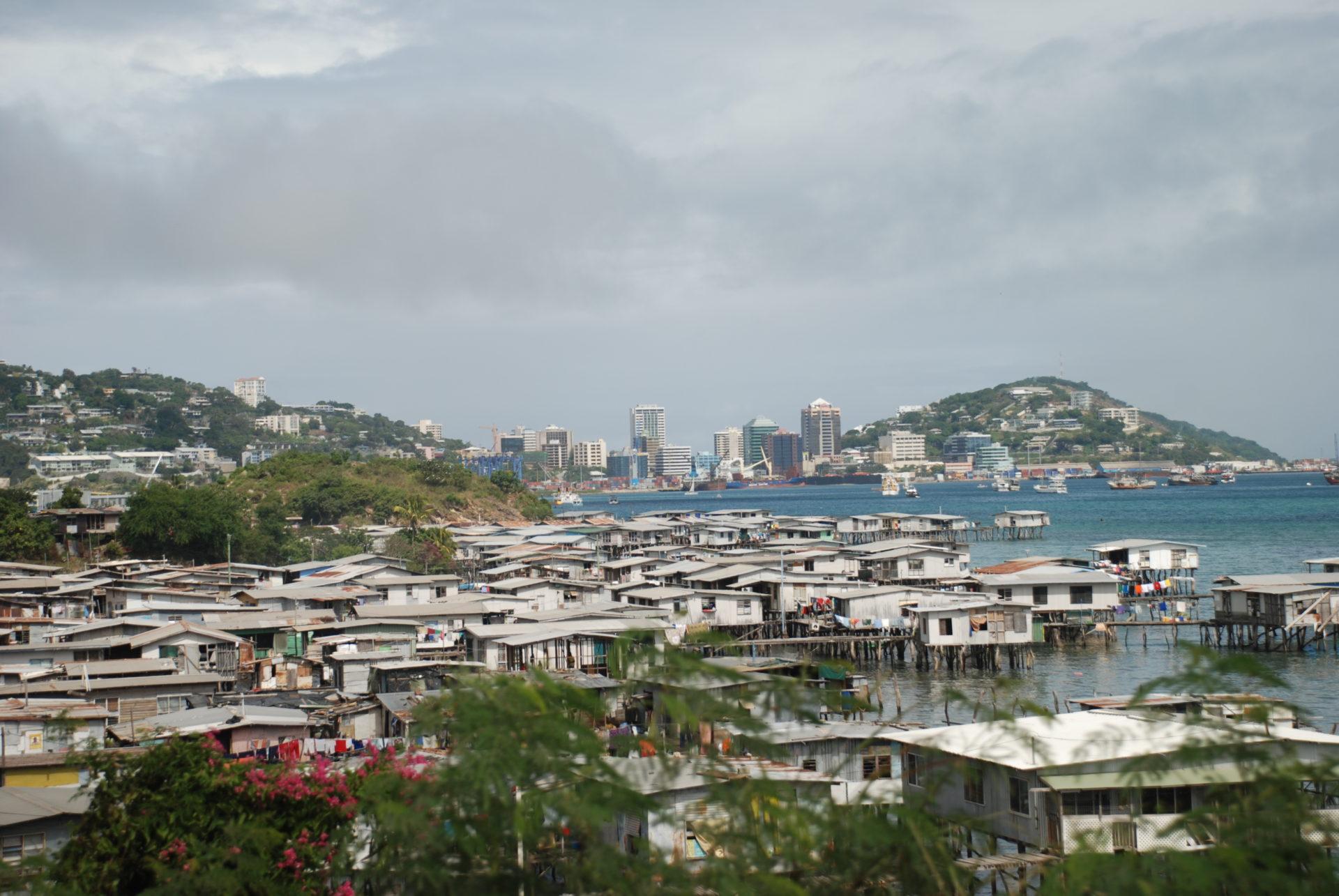 パプアニューギニアの首都、ポートモレスビー