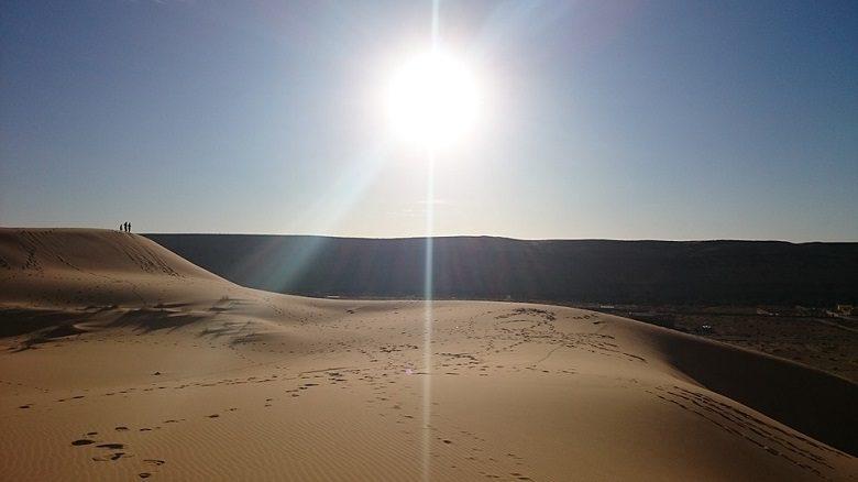 アルジェリアの砂漠