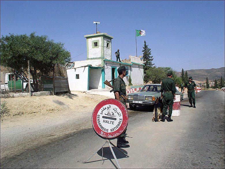 アルジェリアとモロッコの国境