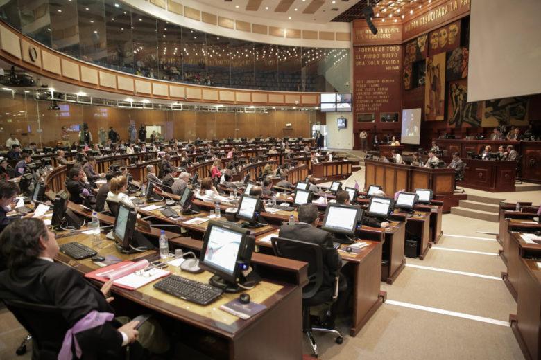 女性に対する暴力を国会で議論する様子 (写真:Asamblea Nacional del Ecuador / Flickr [CC BY-SA 2.0])